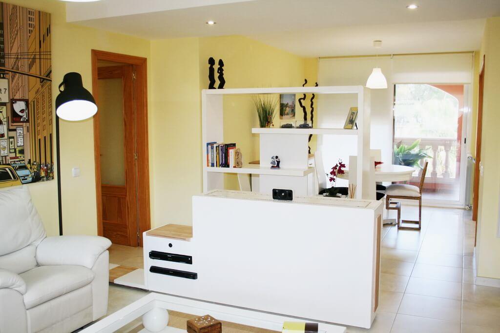 Muebles separadores de espacios stunning librero modelo - Muebles separadores de espacios ...