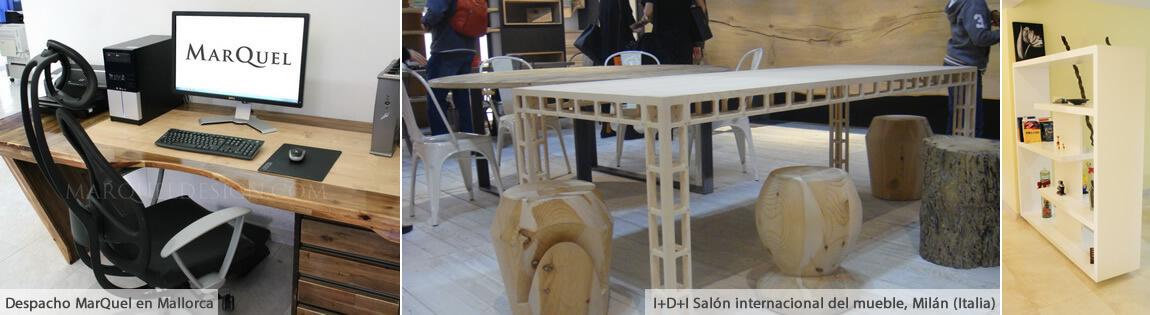 Mesa escritorio ergonomica MarQuel, muebles tv, muebles de salón