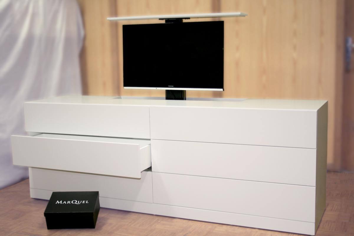 Nuevos trabajos a medida marquel design blog for Mueble compacto tv