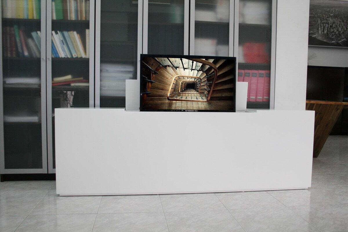 Mueble tv oculta y muebles tv de dise o a medida marquel for Mueble cama con cajones